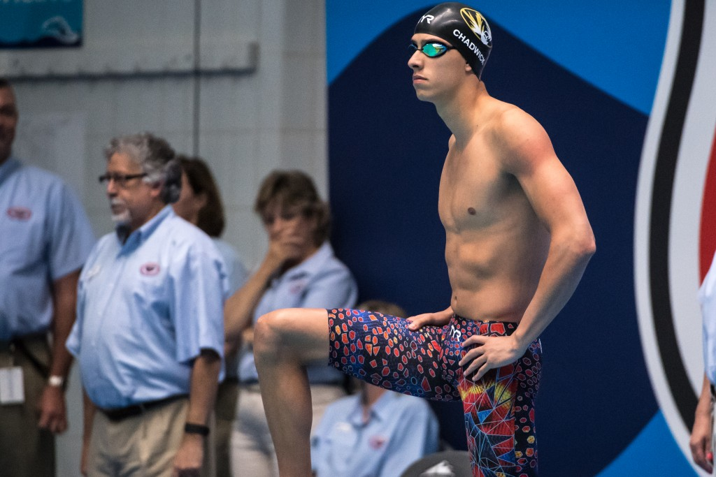 Michael Chadwick 2017 USA Swimming World Team Trials (photo: Mike Lewis)